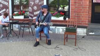Импровизация для соло гитары! КЛАСС!!! Guitar! Buskers! Street! Music!