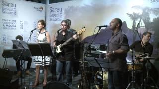 Sarau Repsol Sinopec 28/11/2012 - Conexão Rio, Andrea Veiga e Zé Bigorna - Só Danço Samba
