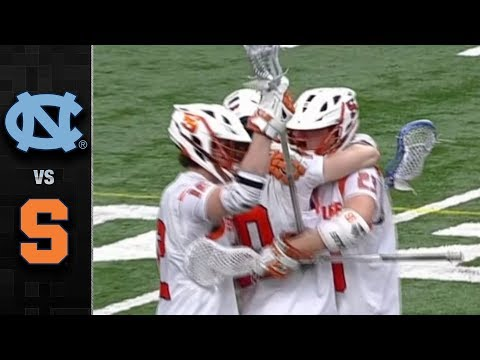 UNC vs. Syracuse Men's Lacrosse Highlights (2018)