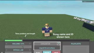DJ BOOTH - ROBLOX Music Player