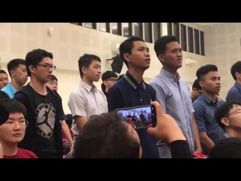 LOVE (God is love, Love suffers long) - Young people in the church in Bandung, Indonesia