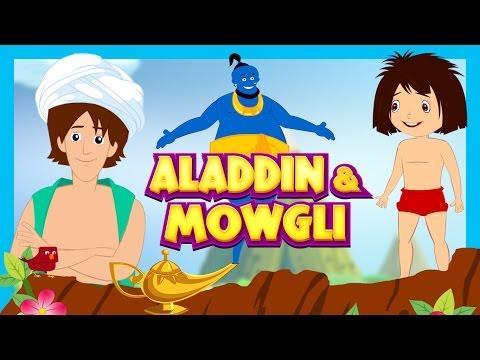 Aladdin and Mowgli Kids Stories - Animated Stories For Kids || Kids Hut Storytelling