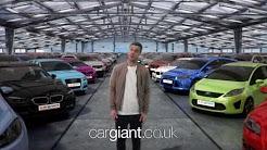 Cargiant TV advert Xmas 2013
