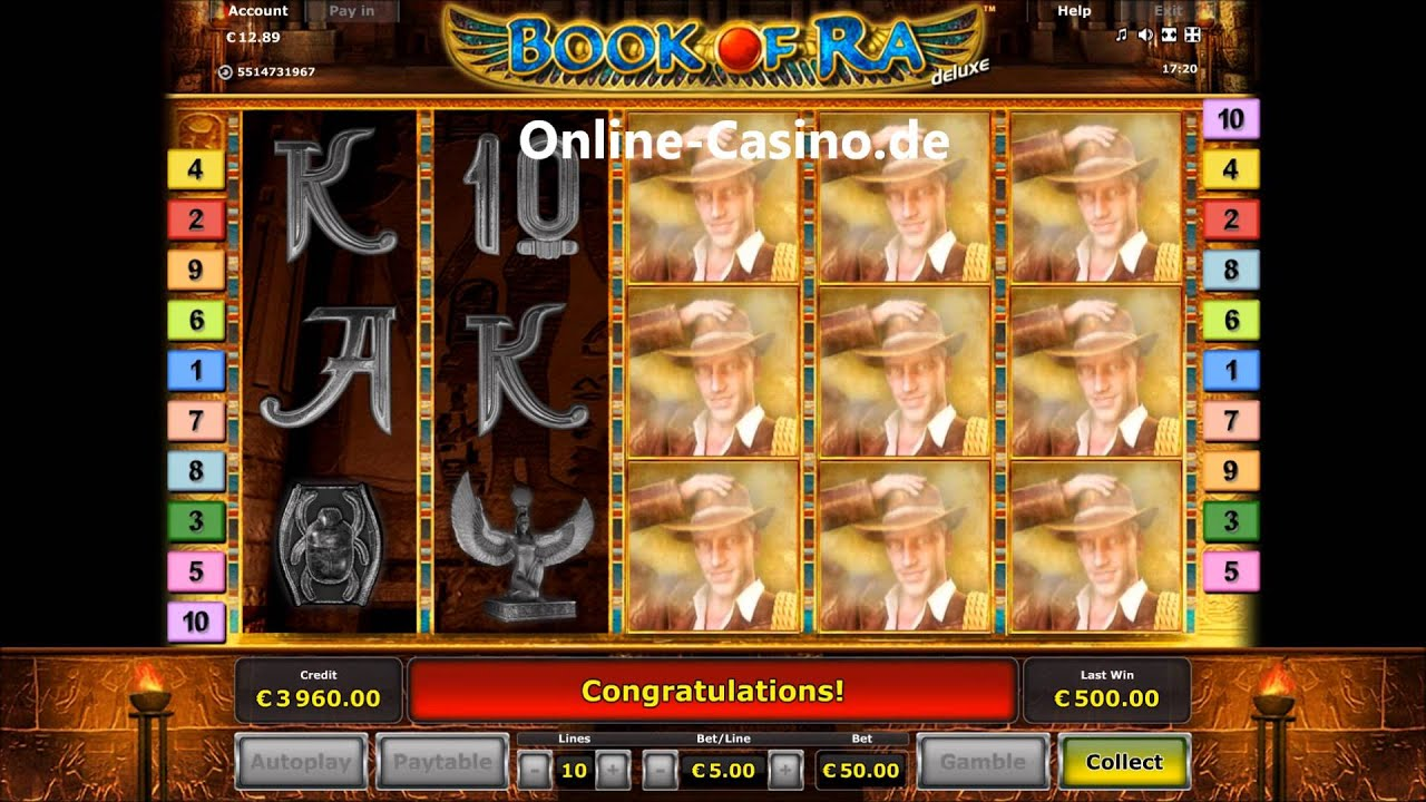 online echtgeld casino slot book of ra