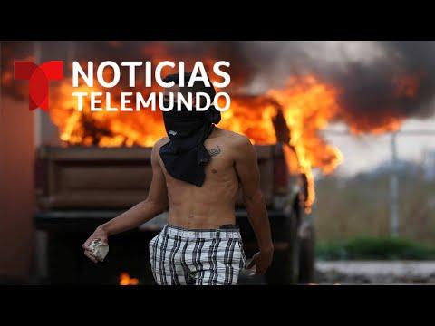 La tensión crece en las fronteras de Venezuela con Colombia y Brasil, La ayuda sigue estancada