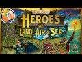 Heroes of Land, Air & Sea — game preview at Origins Game Fair 2017