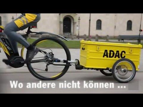 ADAC-Pannenhilfe kommt mit dem E-Bike / Automobilclub setzt im Rahmen eines Pilotprojekts in Berlin und Stuttgart auf Elektrofahrräder