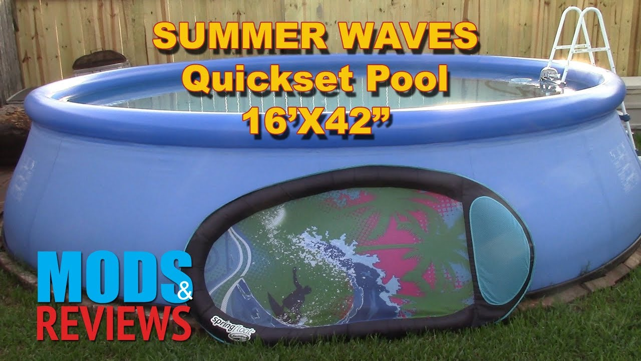 Summer Waves Quickset Pool Review