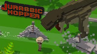 Minecraft Dinosaur Run - Jurassic Hopper