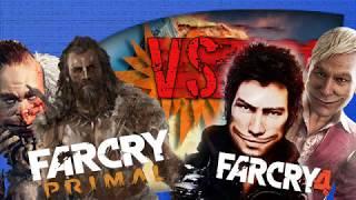 Farcry 4 ou Farcry Primal - Farcry Primal vs Farcry 4 - Qual é o melhor?? EP1 (PT-BR)