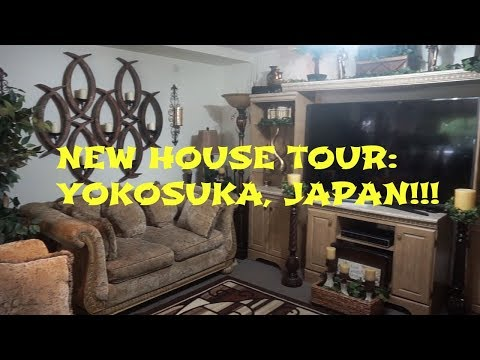 NEW HOUSE TOUR YOKOSUKA NAVAL BASE JAPAN | BEFORE AND AFTER UPDATE