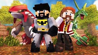 Minecraft : POKÉMON SAFARI #7 - A ALIANÇA ESTÁ FORMADA! (c/ Montalvão)