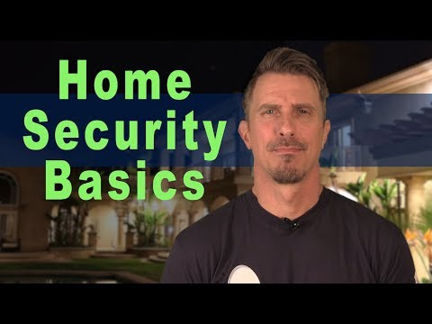 Home Security Basics | The 4 Most Asked Questions