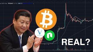 Did China REALLY Pump Bitcoin? is it REAL?