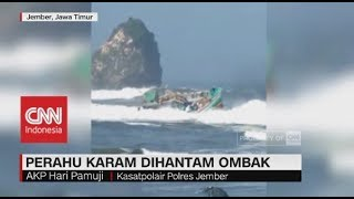Perahu Karam Dihantam Ombak Puger ; Kapolres Jember, AKBP Kusworo Wibowo