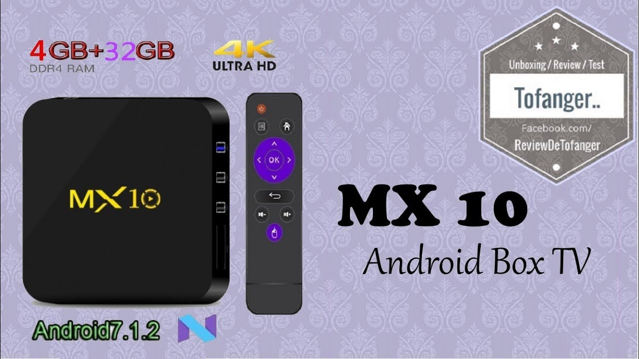 mx 10 android tv box