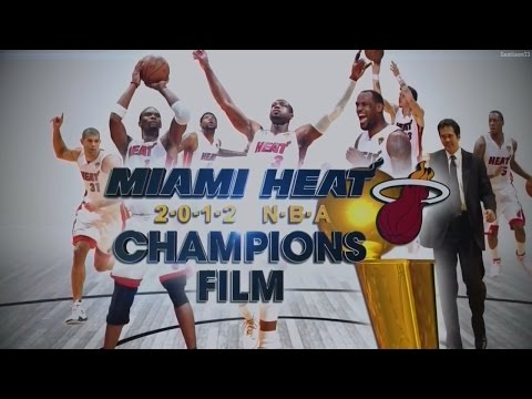 Miami Heat - 2012 NBA Champions