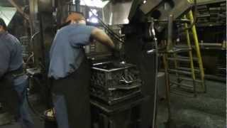 Sand Molding Process by Coastal Foundry Company