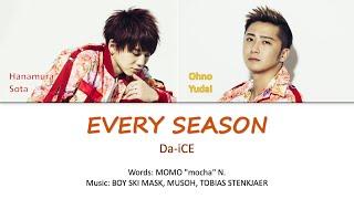 Download Lagu Da-iCE -「Every Season」Color-Coded Lyrics [Kanji/Romaji/English Translation/Vietsub (turn on CC)] mp3