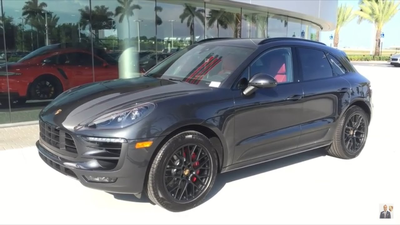 2017 Volcano Grey Porsche Macan Gts 360 Hp Porsche West Broward Youtube