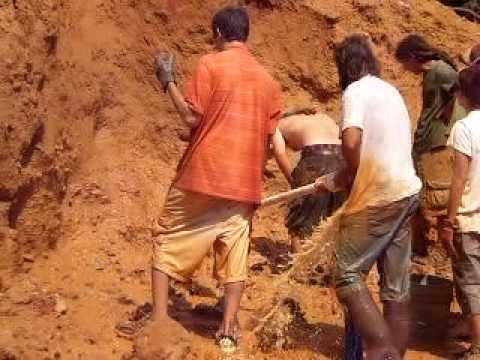 Diamond Hill Mine South Carolina: 1st ever Water Dig