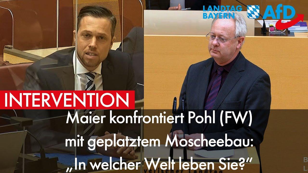 Konfrontation im Landtag