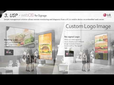 Introduction of LG webOS Signage