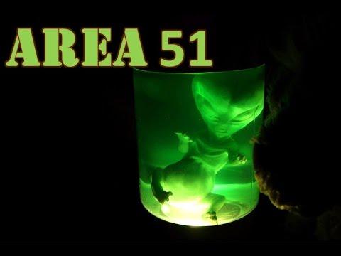 AREA 51 Alien Video XEMU XENO Lamp FUN VIDEO REVIEW Light Up ...