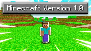 Can You Beat Minecraft Version 1.00? (very hard)