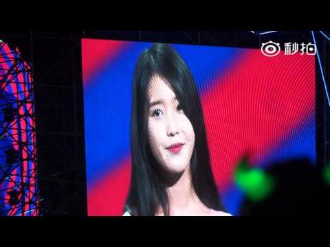 150829 Producer Shanghai Fanmeeting - IU - Palpitations (Producer OST)