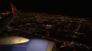 Full Southwest Airlines Las Vegas (KLAS) Night Departure