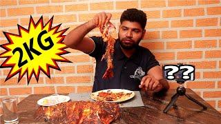 2 KG Pomfret Eating Challenge | Tamil Foodie | Hunger Game Restaurant