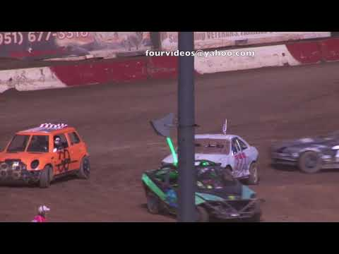 Perris Auto Speedway 4 cyl Demo cross Main Event Highlights 7-4 -9