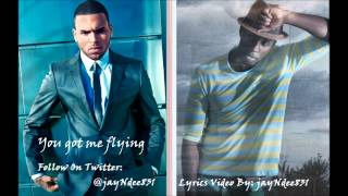 "Chris Brown Ft. Andre Merritt - ""Flying Solo"" (Lyrics Video By: jayNdee831)"