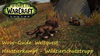 WoW-Guide: Weltquest Haustierkampf - Wildtierschutztrupp - Hungriger Eiszahn