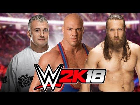 Shane McMahon vs Kurt Angle vs Daniel Bryan