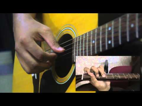 Learn how to Play Fingerstyle Guitar - Nyanyian Suara Hati (Intro)