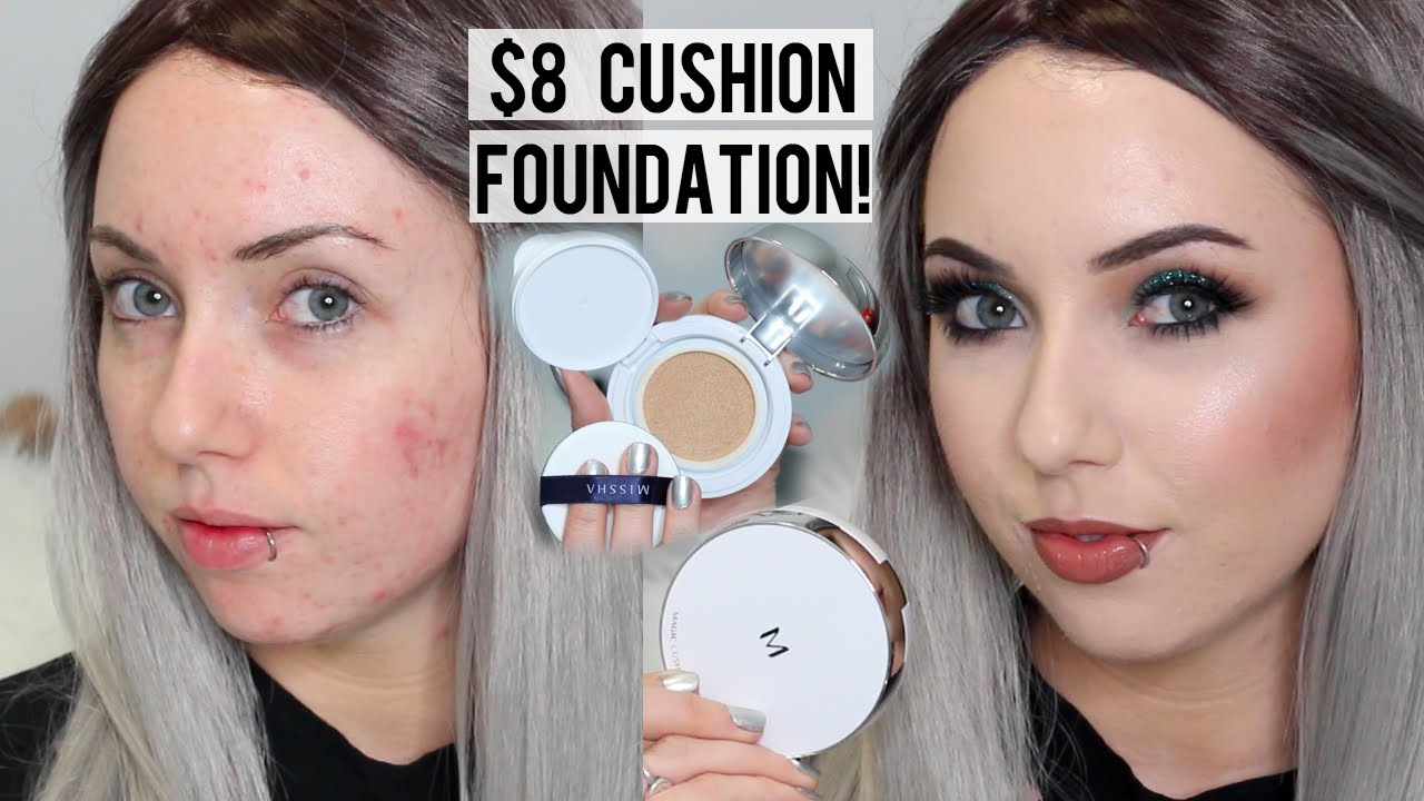 Missha M Magic Cushion Foundation 21 First Impression Review Demo