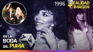 Verónica Castro en la Boda del Puma Rodríguez + Calidad de imagen optimizada - 1996