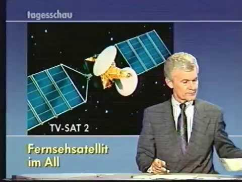 Tv sat 2  Tagessschau 1989