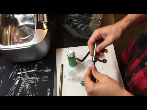 Tutorial - Savage 93R17 Bolt Cleaning