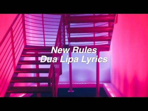 New Rules || Dua Lipa Lyrics