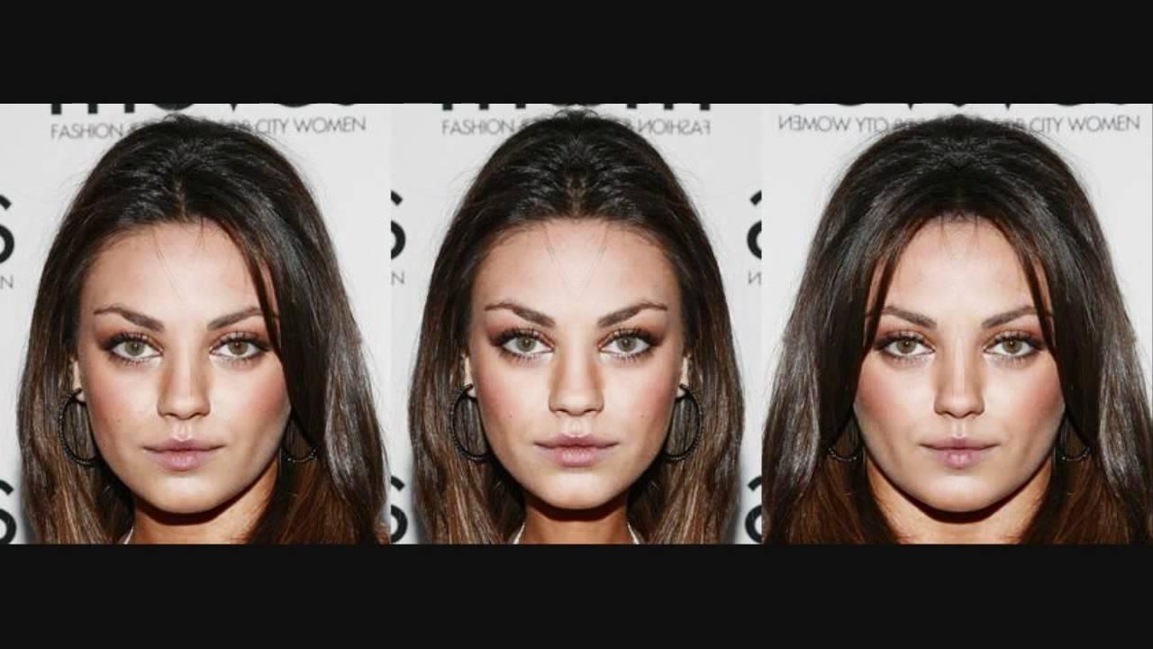 Mila Kunis Facial Symmetry