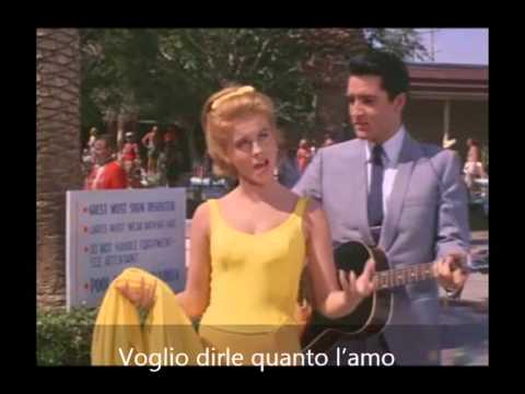 The Girl of My Best Friend -Elvis Presley (Sottotitolato)