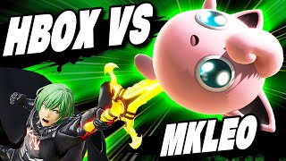 HBOX vs MKLEO - The BEST of MELEE and SMASH ULTIMATE