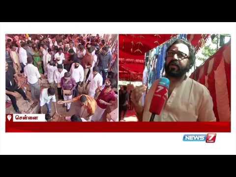 Nadigar Sangam is not only about actor Vishal : Ponvannan   News7 Tamil