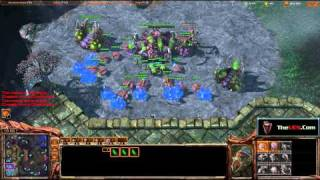 StarCraft 2 Masters - Cheese Play by Double Random.  Ugh