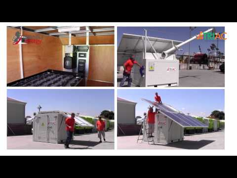 TRIAC™ ( Solar & Hybrid Generator ), Solar TAYF™ ( Solar Mobile Lighting Tower )