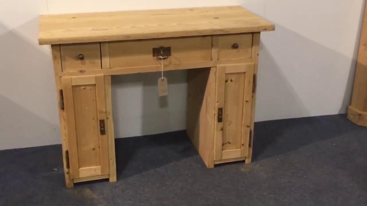 Small Useful Pine Desk Pinefinders