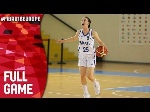 Ireland v Israel - Full Game - Class 9-10 - FIBA U16 Women's European Championship 2017 - DIV B